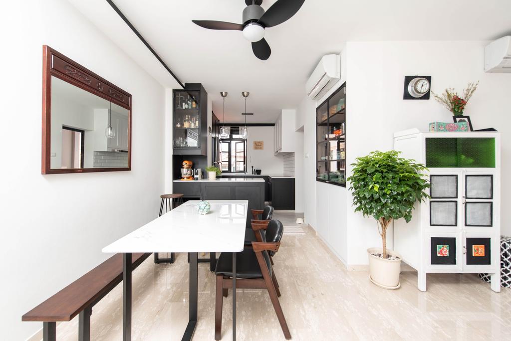 Contemporary, Condo, Dining Room, Ebony Mansions, Interior Designer, Artitecture