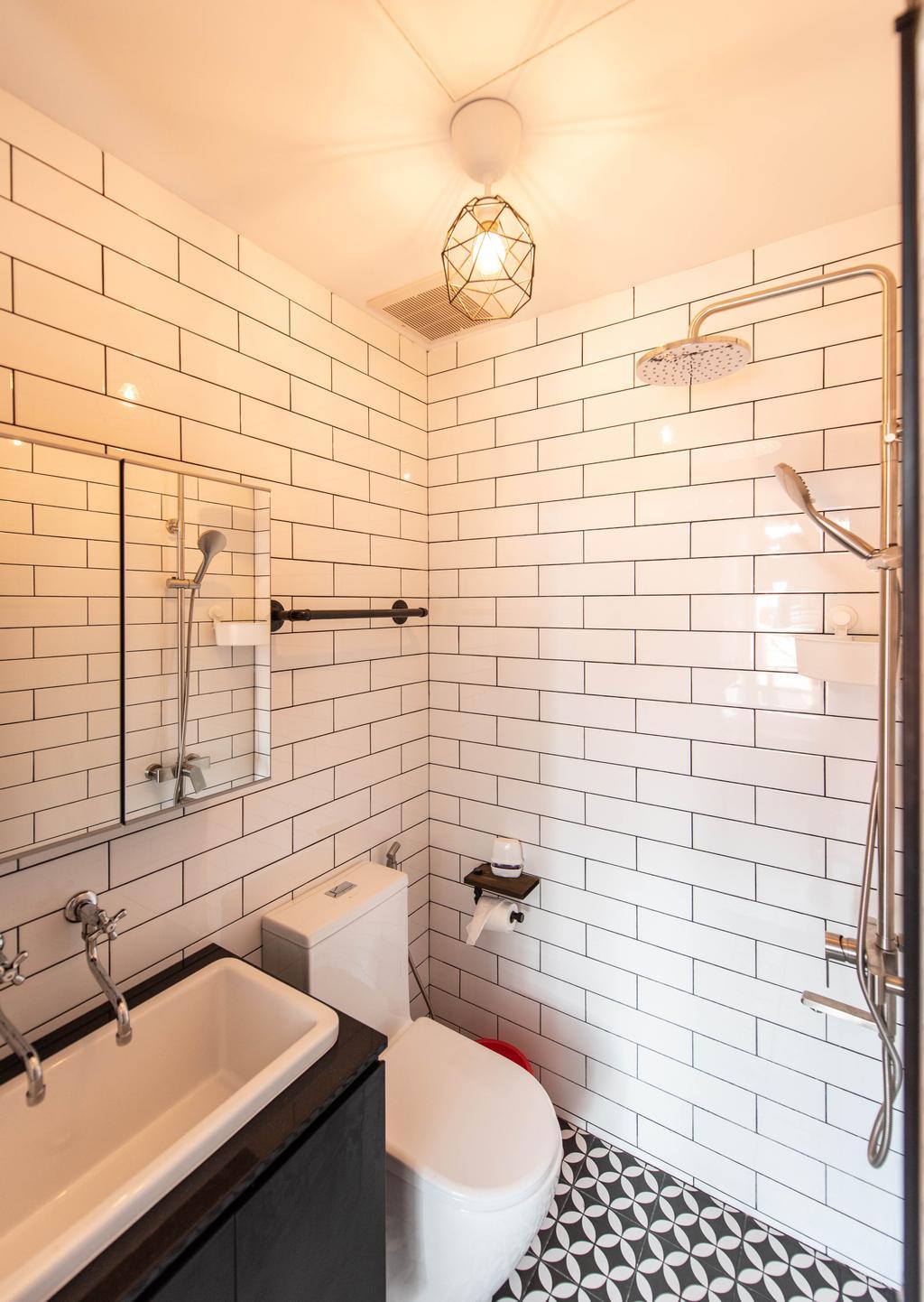 Contemporary, Condo, Bathroom, Ebony Mansions, Interior Designer, Artitecture