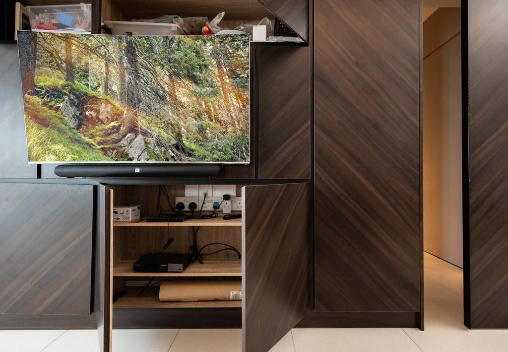 Contemporary, HDB, Living Room, Boon Keng Road, Interior Designer, Artitecture