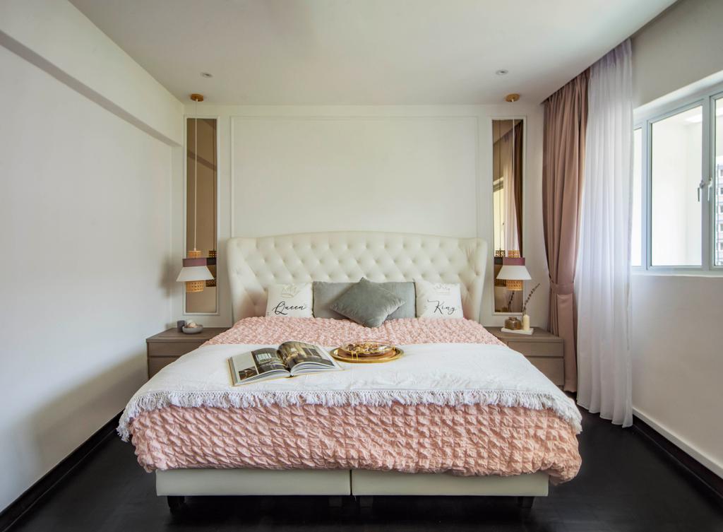 Modern, HDB, Bedroom, Pipit Road, Interior Designer, DISTINCTidENTITY, Contemporary