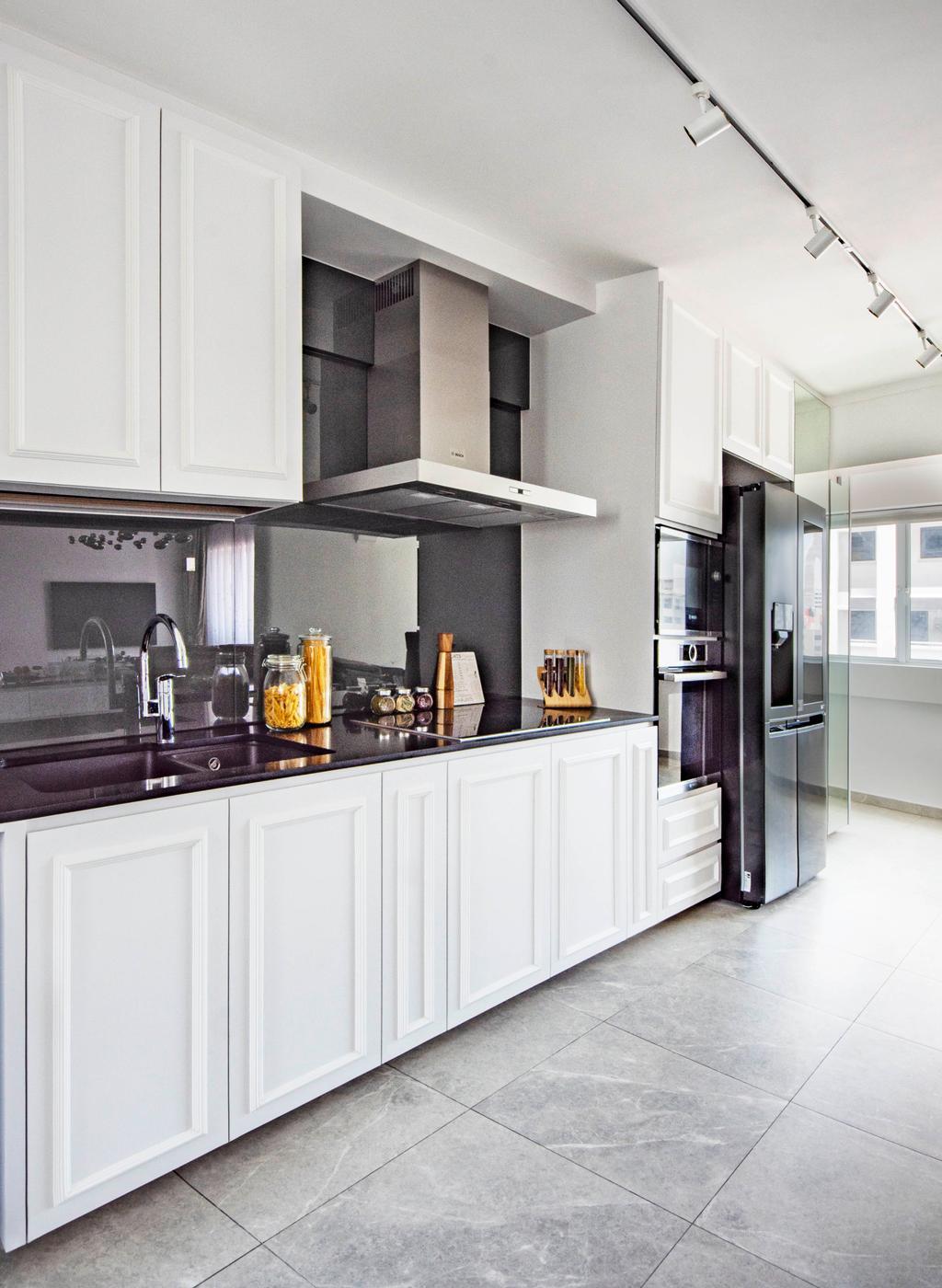 Modern, HDB, Kitchen, Pipit Road, Interior Designer, DISTINCTidENTITY, Contemporary