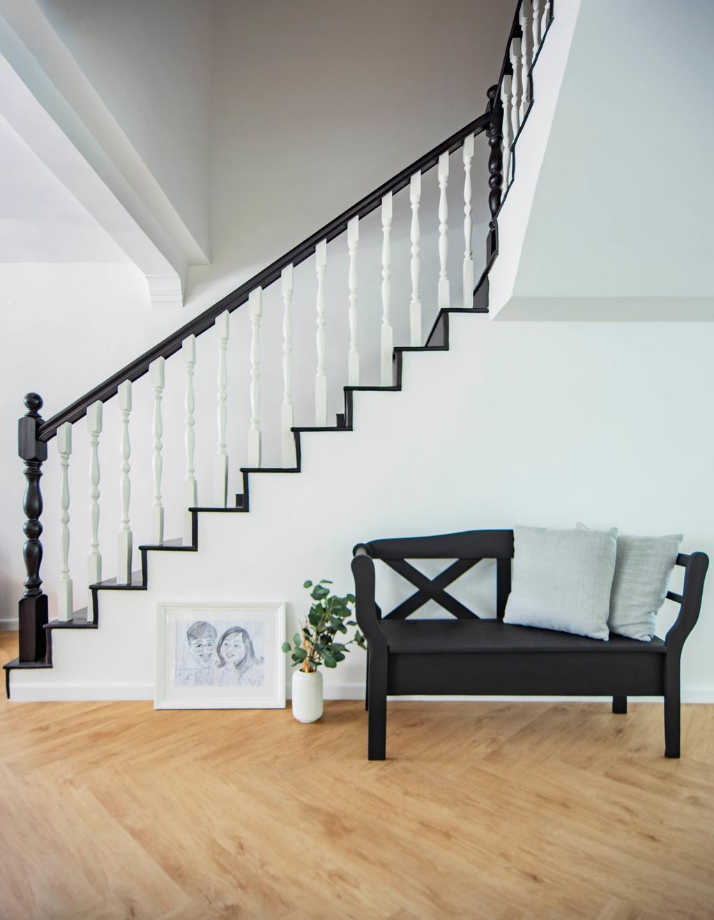 Modern, HDB, Living Room, Pipit Road, Interior Designer, DISTINCTidENTITY, Contemporary