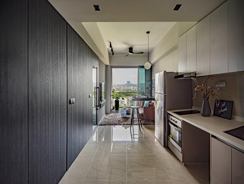 Modern, Condo, Kitchen, West Coast View, Interior Designer, DISTINCTidENTITY, Contemporary