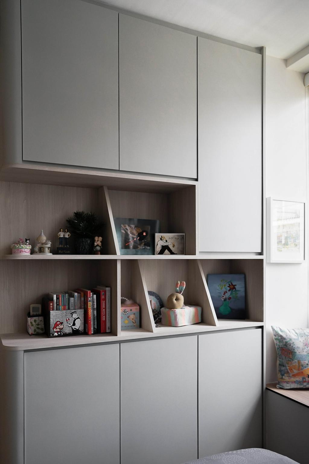 Modern, Condo, Bedroom, Carabelle, Interior Designer, Authors • Interior & Styling, Contemporary