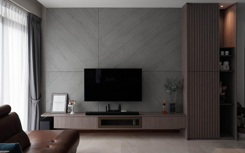 Modern, Condo, Living Room, Carabelle, Interior Designer, Authors • Interior & Styling, Contemporary