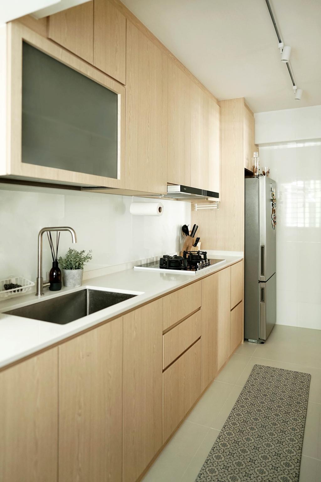 Minimalistic, HDB, Dining Room, Tampines Street 61, Interior Designer, Authors • Interior & Styling