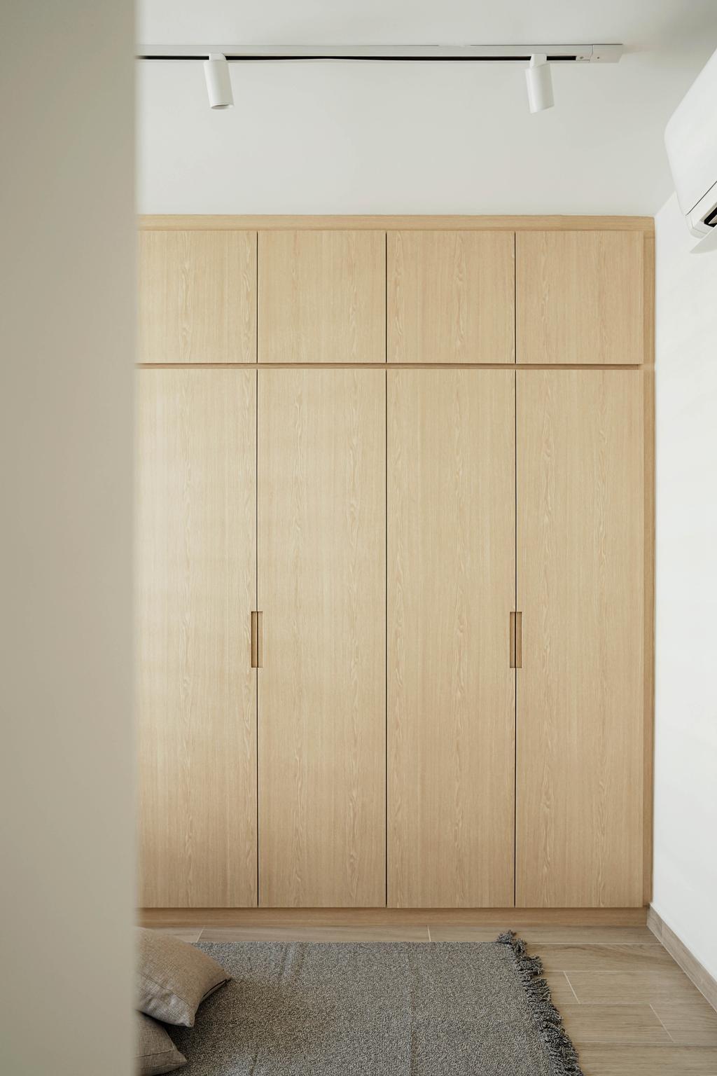 Minimalistic, HDB, Bedroom, Tampines Street 61, Interior Designer, Authors • Interior & Styling