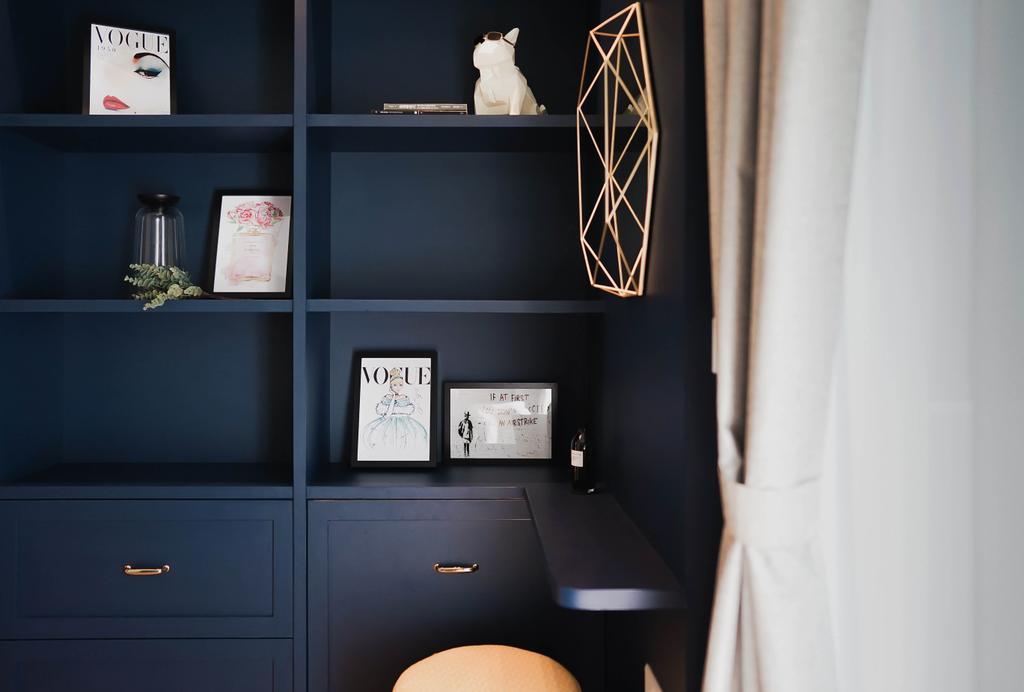 Modern, Condo, Living Room, Botanique @ Bartley, Interior Designer, Authors • Interior & Styling