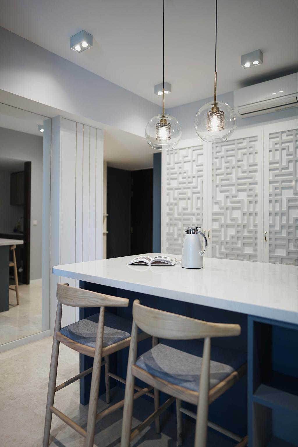 Modern, Condo, Dining Room, Botanique @ Bartley, Interior Designer, Authors • Interior & Styling
