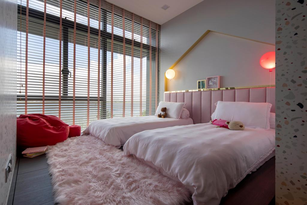 Contemporary, Landed, Bedroom, Wak Hassan, Interior Designer, Aestherior