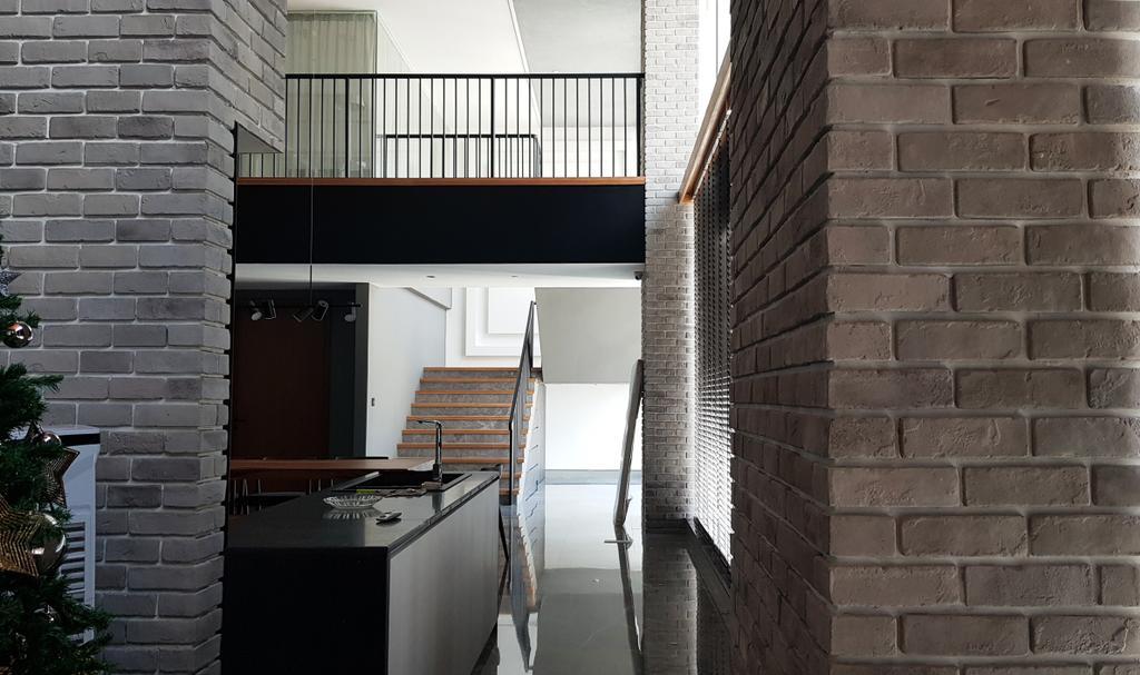 Modern, Condo, Vida Bukit Ceylon, KL, Interior Designer, Red Panda Design, Minimalistic, Industrial