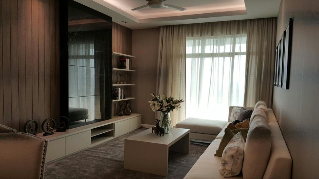 Condo, SkyVilla Condo, Kuching, Interior Designer, Free Flow Design
