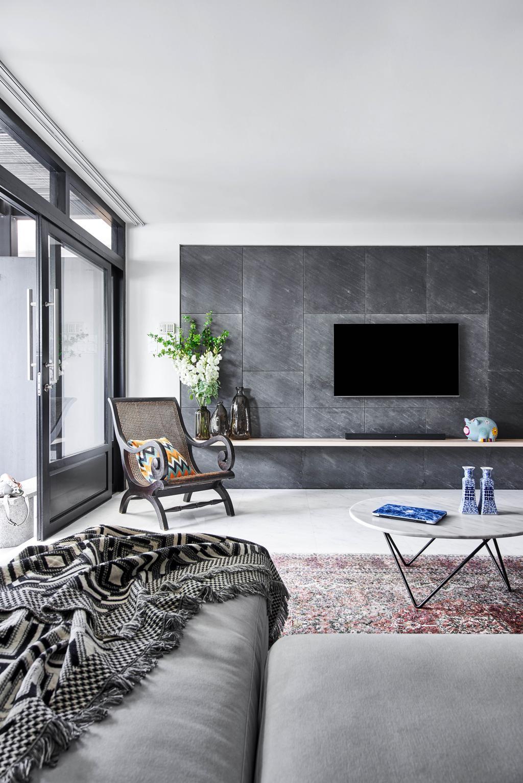 Contemporary, Landed, Living Room, Jalan Adat, Interior Designer, Bowerman