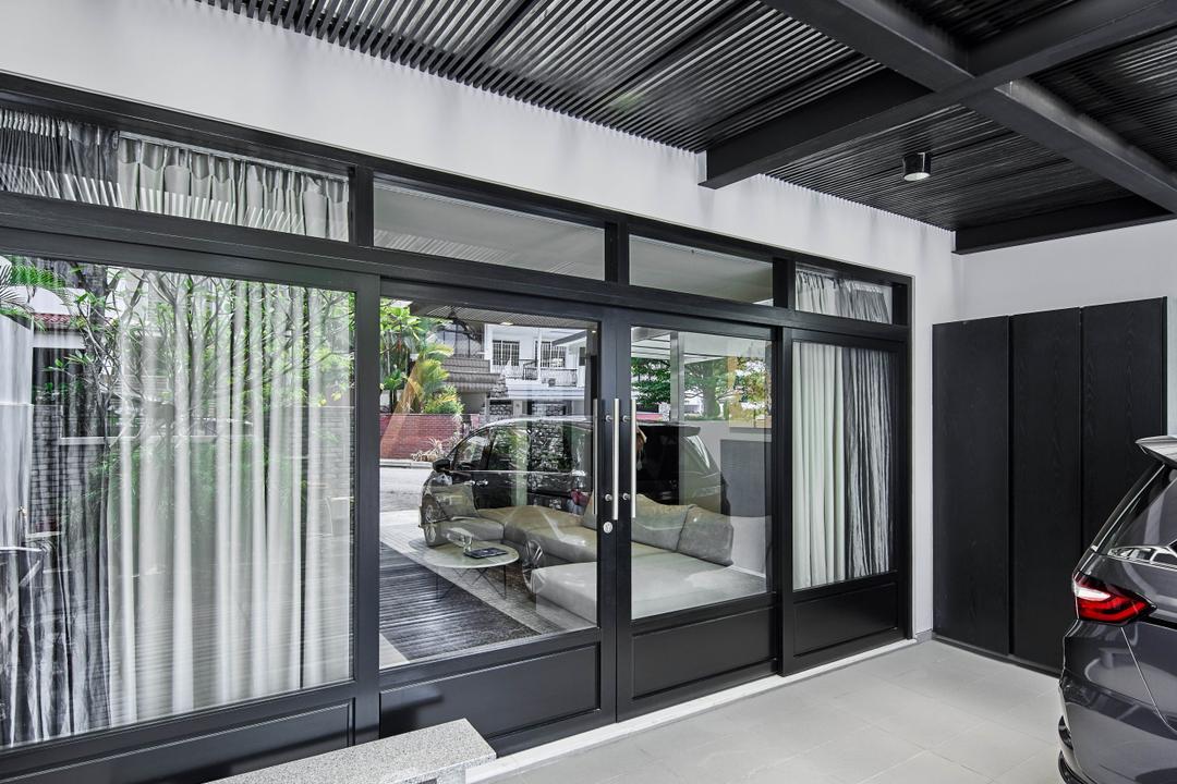 Jalan Adat, Bowerman, Contemporary, Balcony, Landed, Foyer, Porch, Entrance, Car Porch