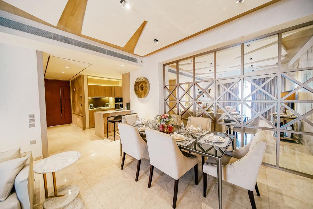 Contemporary, Condo, Dining Room, Duo Residences, Interior Designer, I Interior Design