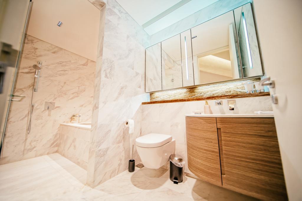 Contemporary, Condo, Bathroom, Duo Residences, Interior Designer, I Interior Design