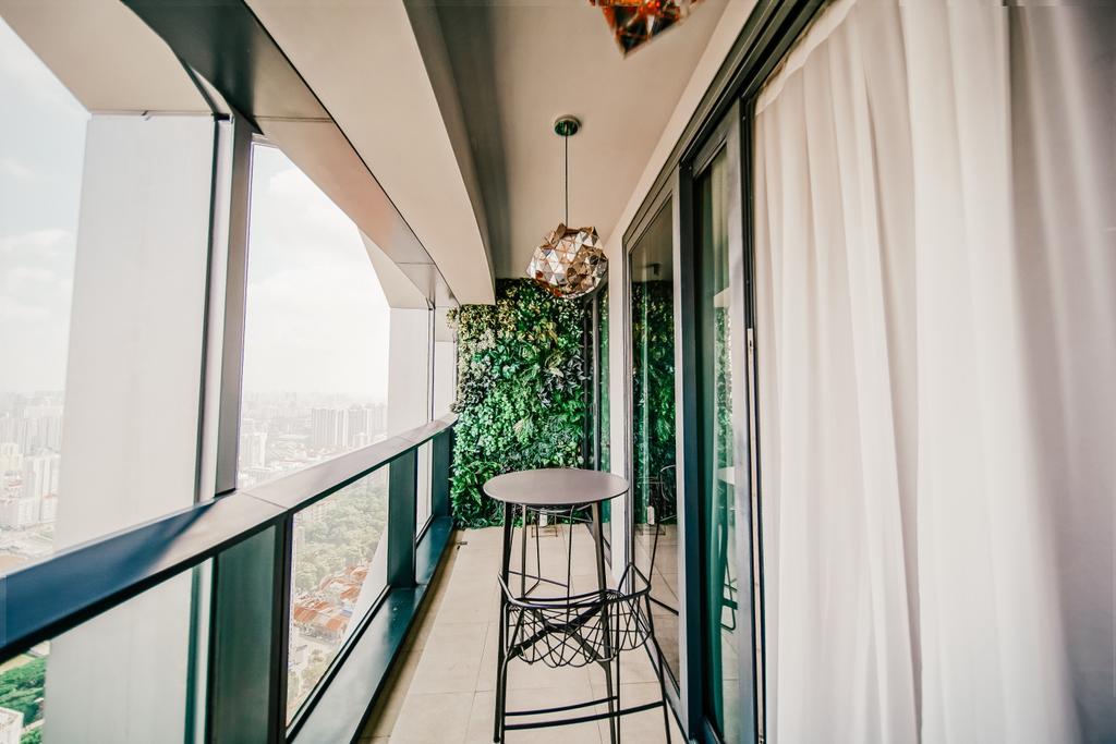 Contemporary, Condo, Balcony, Duo Residences, Interior Designer, I Interior Design