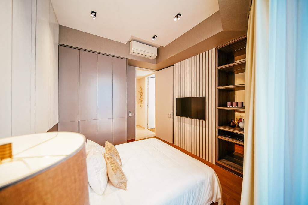 Contemporary, Condo, Bedroom, Duo Residences, Interior Designer, I Interior Design