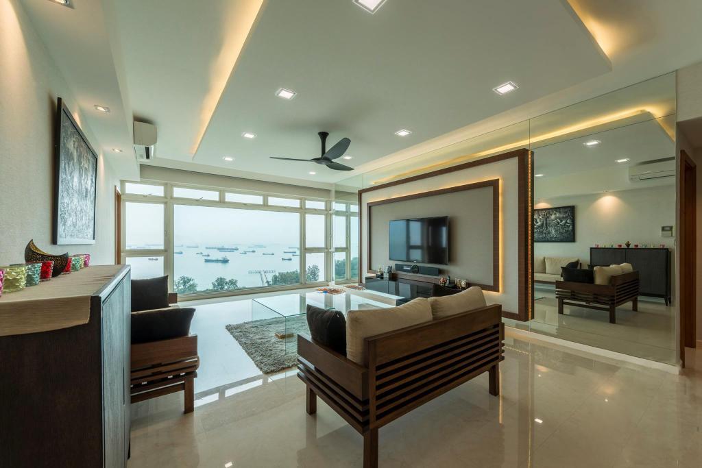 Transitional, Condo, Living Room, Costa Del Sol, Interior Designer, I Interior Design