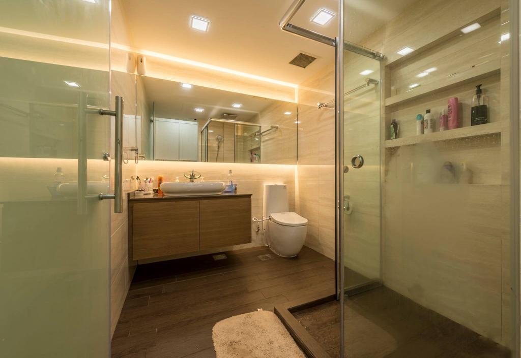 Transitional, Condo, Bathroom, Costa Del Sol, Interior Designer, I Interior Design