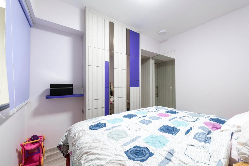 Contemporary, HDB, Bedroom, Marine Parade, Interior Designer, I Interior Design