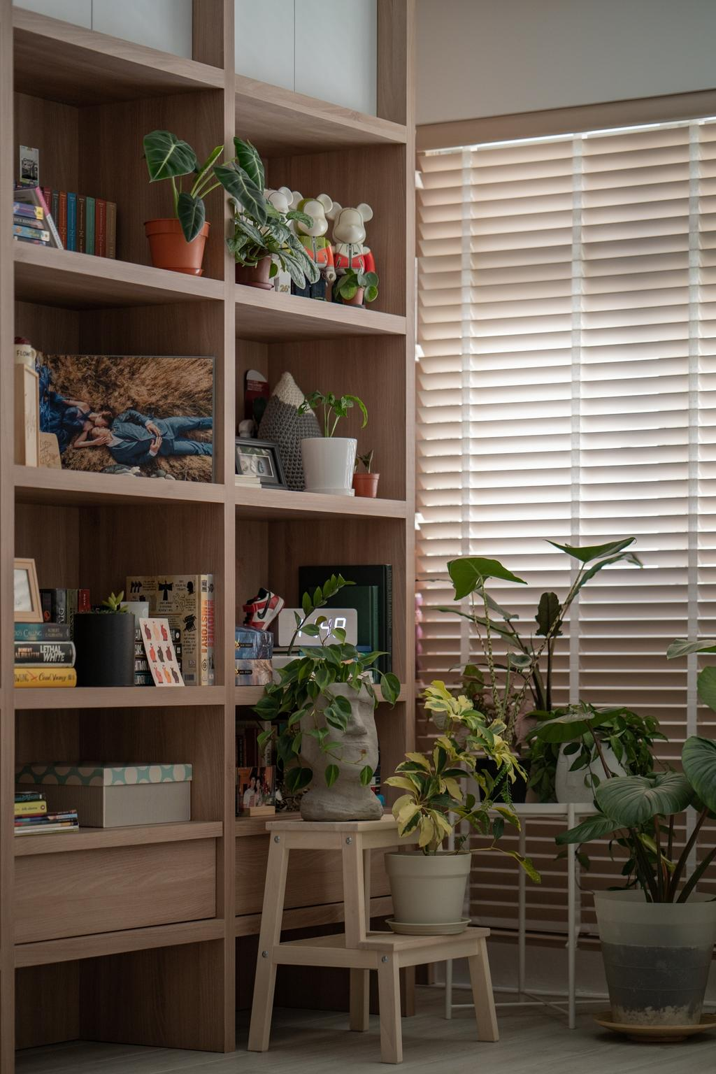 Scandinavian, HDB, Living Room, Circuit Road, Interior Designer, Arche Interior, Houseplants
