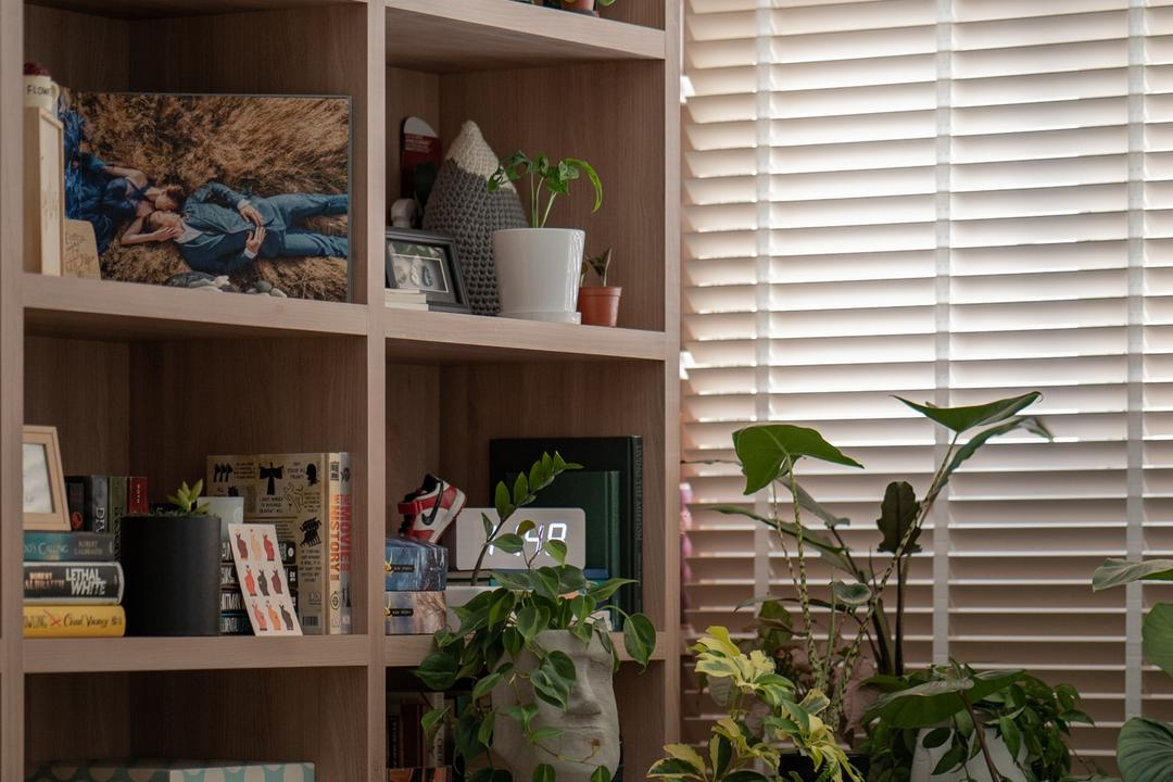 Circuit Road, Arche Interior, Scandinavian, Living Room, HDB, Houseplants
