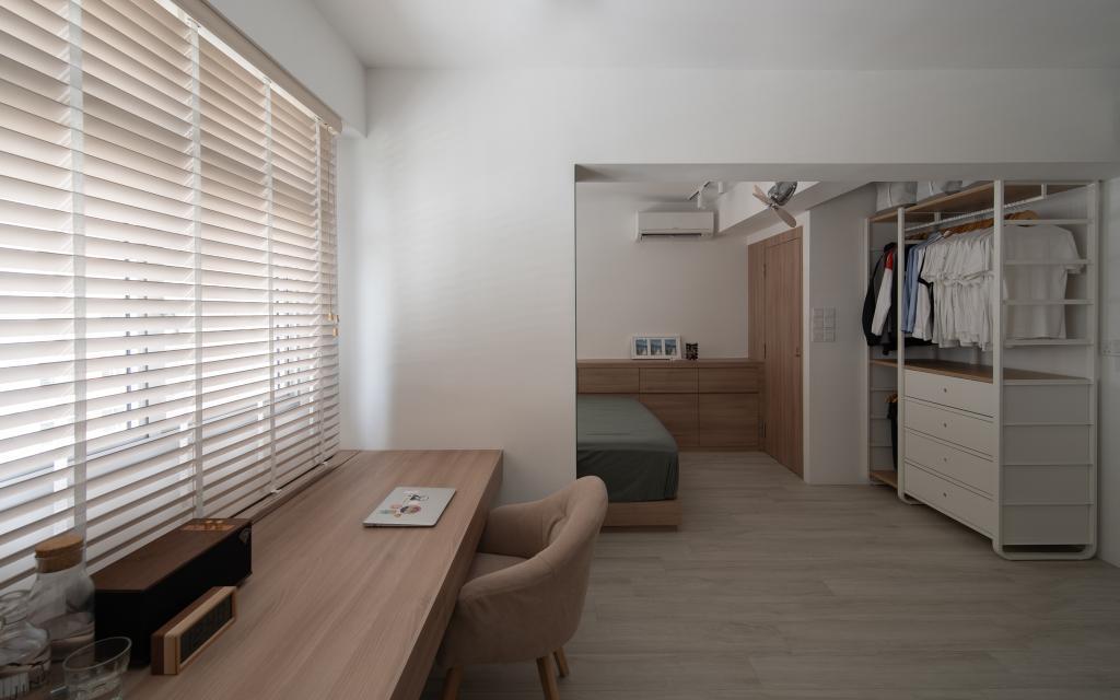 Scandinavian, HDB, Study, Circuit Road, Interior Designer, Arche Interior