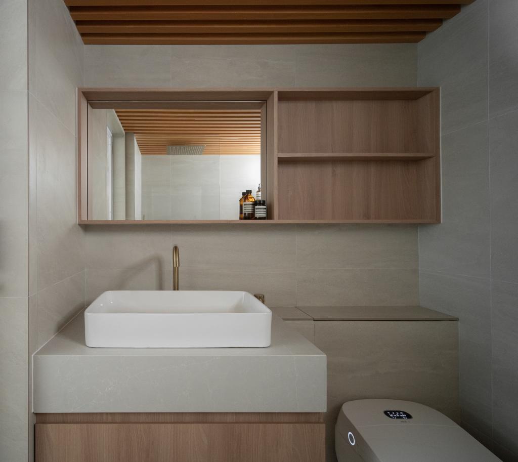Scandinavian, HDB, Bathroom, Circuit Road, Interior Designer, Arche Interior