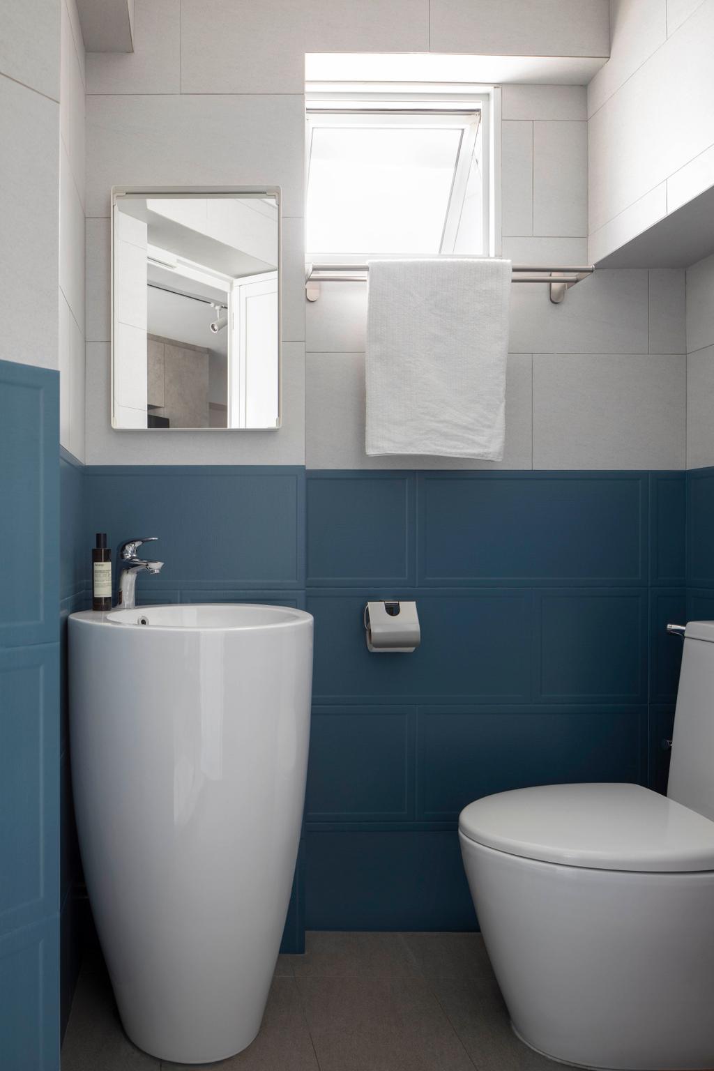 Minimalistic, HDB, Bathroom, Potong Pasir Avenue 1, Interior Designer, Adroit ID