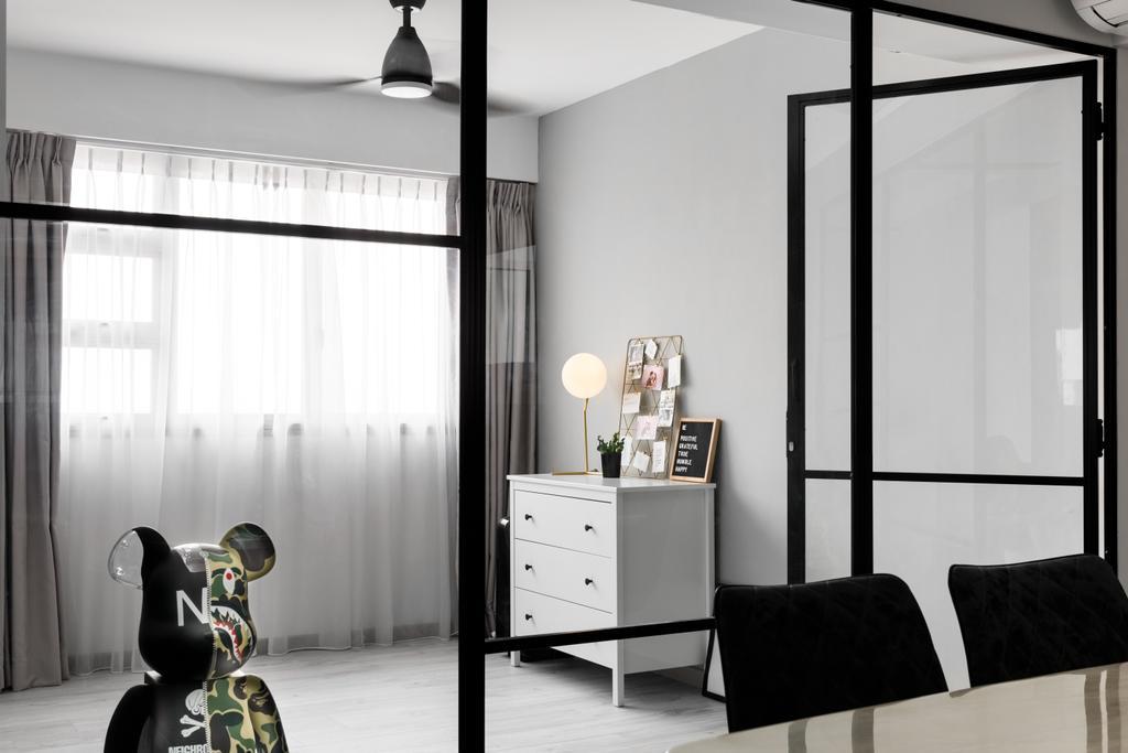 Contemporary, HDB, Study, Ang Mo Kio Street 51, Interior Designer, Jialux Interior