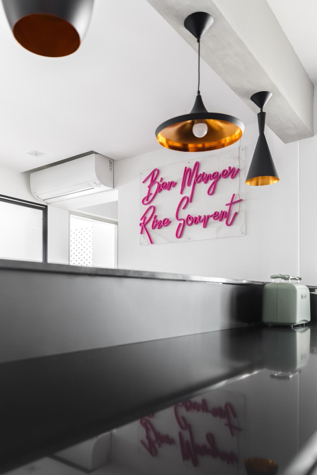 Contemporary, HDB, Dining Room, Ang Mo Kio Street 51, Interior Designer, Jialux Interior