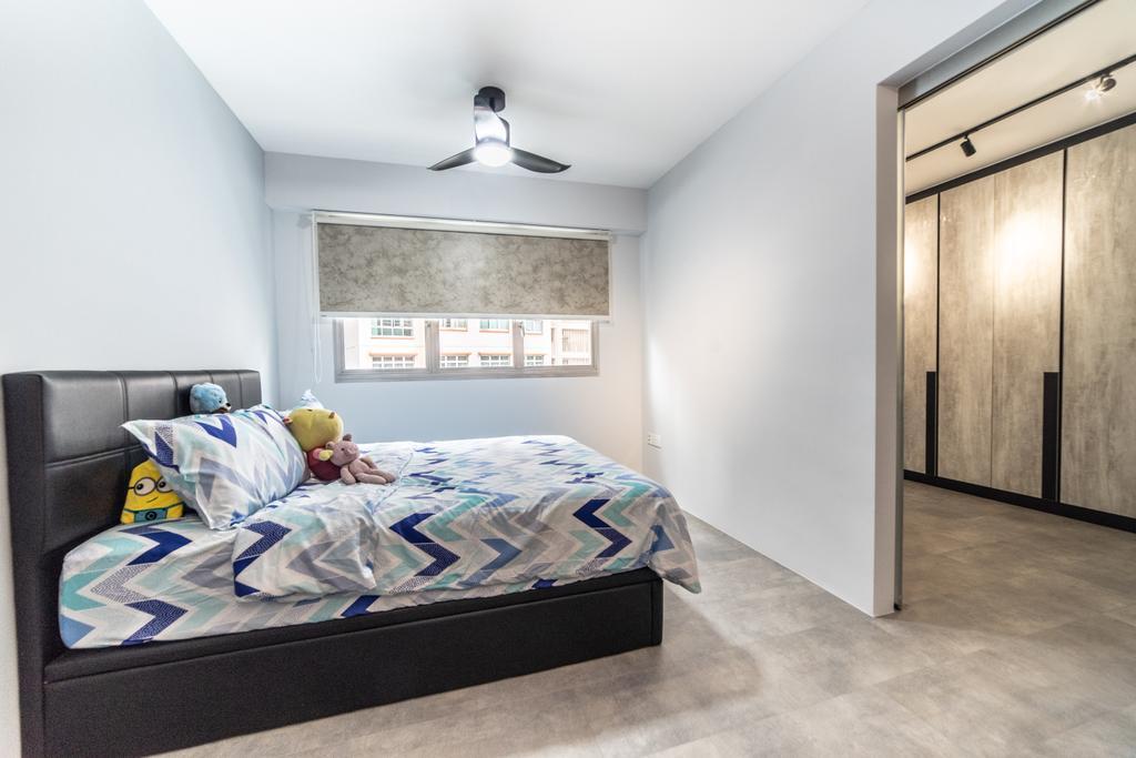 Contemporary, HDB, Bedroom, Bukit Batok West Avenue 9, Interior Designer, Jialux Interior