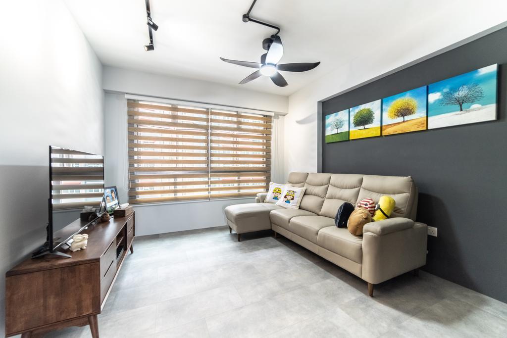 Contemporary, HDB, Living Room, Bukit Batok West Avenue 9, Interior Designer, Jialux Interior