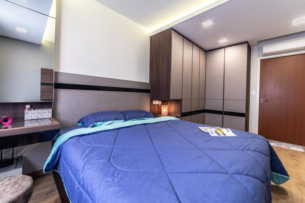 HDB, Bedroom, Canberra Crescent, Interior Designer, Jialux Interior