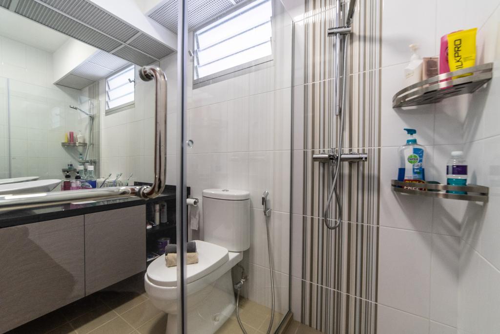 HDB, Bathroom, Canberra Crescent, Interior Designer, Jialux Interior