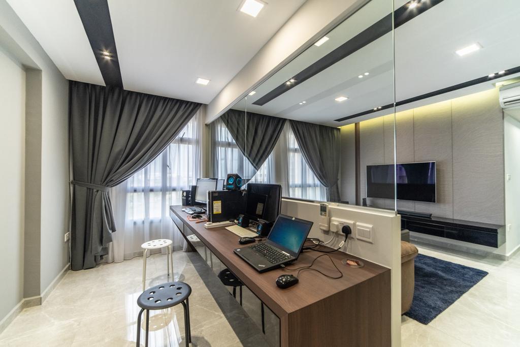 HDB, Study, Canberra Crescent, Interior Designer, Jialux Interior