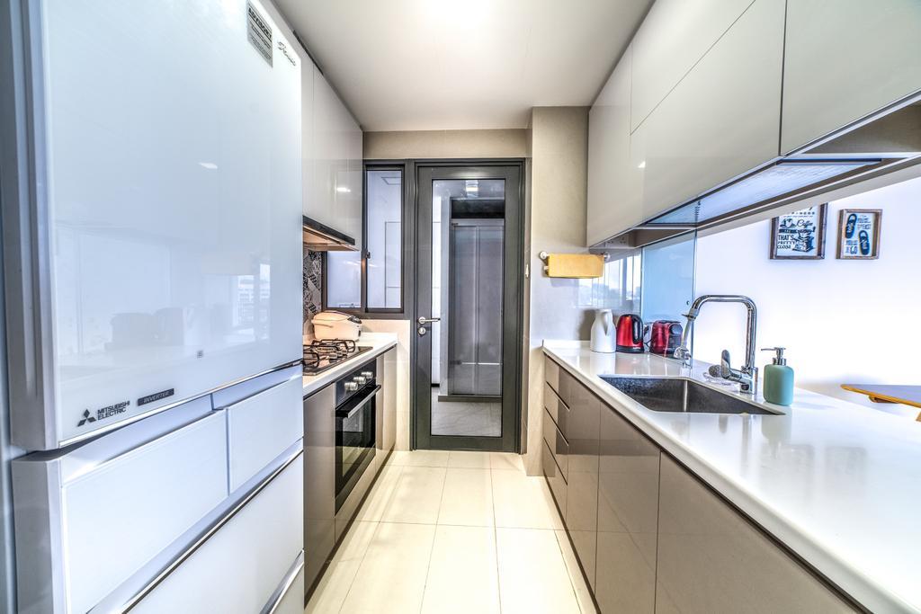 Contemporary, Condo, Kitchen, Wandervale, Interior Designer, Jialux Interior, Modern
