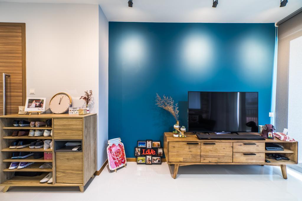 Contemporary, Condo, Living Room, Wandervale, Interior Designer, Jialux Interior, Modern