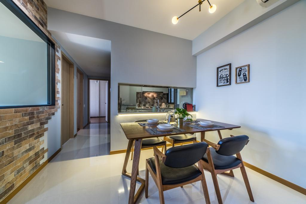 Contemporary, Condo, Dining Room, Wandervale, Interior Designer, Jialux Interior, Modern