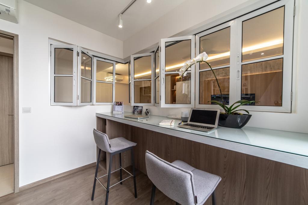 Modern, Condo, Study, Sol Acres, Interior Designer, Jialux Interior