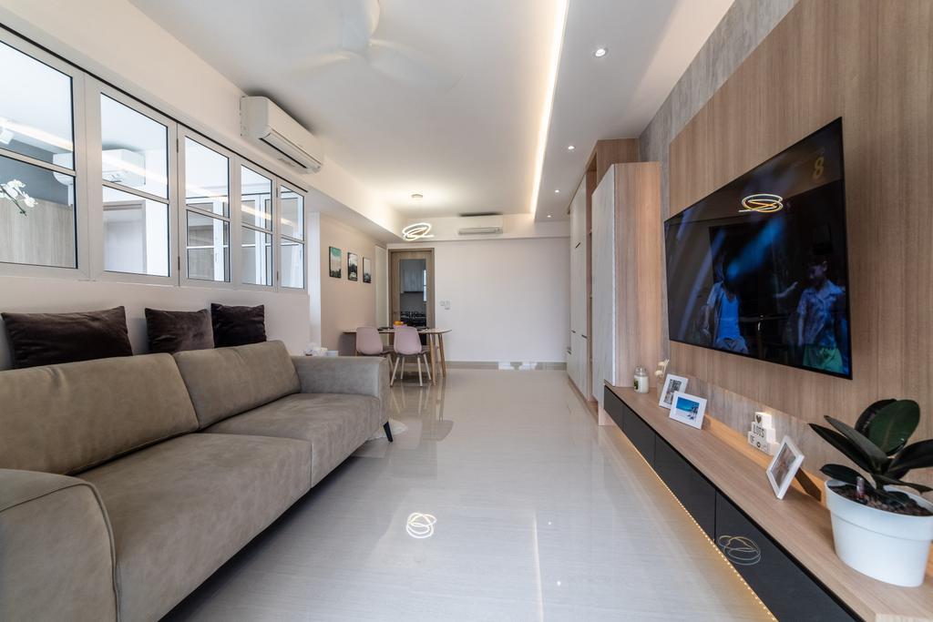 Modern, Condo, Living Room, Sol Acres, Interior Designer, Jialux Interior