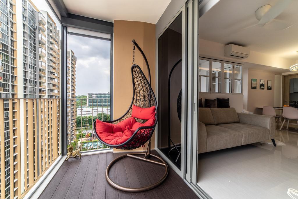 Modern, Condo, Balcony, Sol Acres, Interior Designer, Jialux Interior