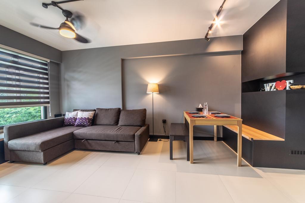 Contemporary, HDB, Living Room, Montreal Link, Interior Designer, Jialux Interior