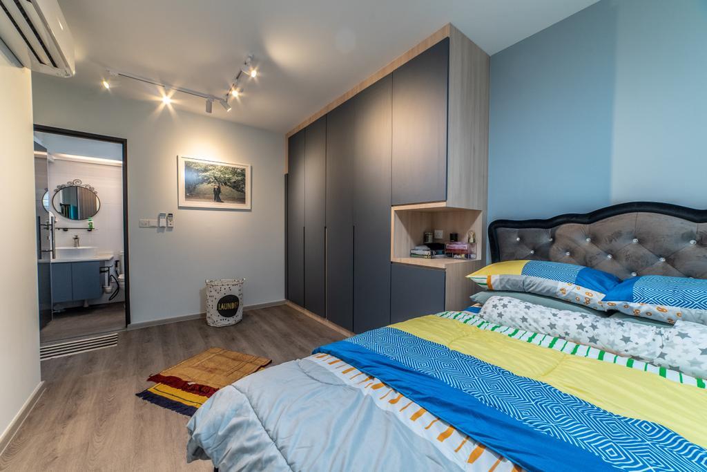 Contemporary, HDB, Bedroom, Sembawang Crescent, Interior Designer, Jialux Interior