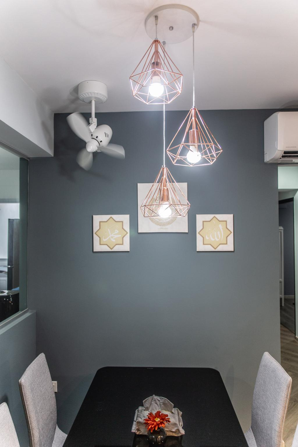 Contemporary, HDB, Dining Room, Sembawang Crescent, Interior Designer, Jialux Interior