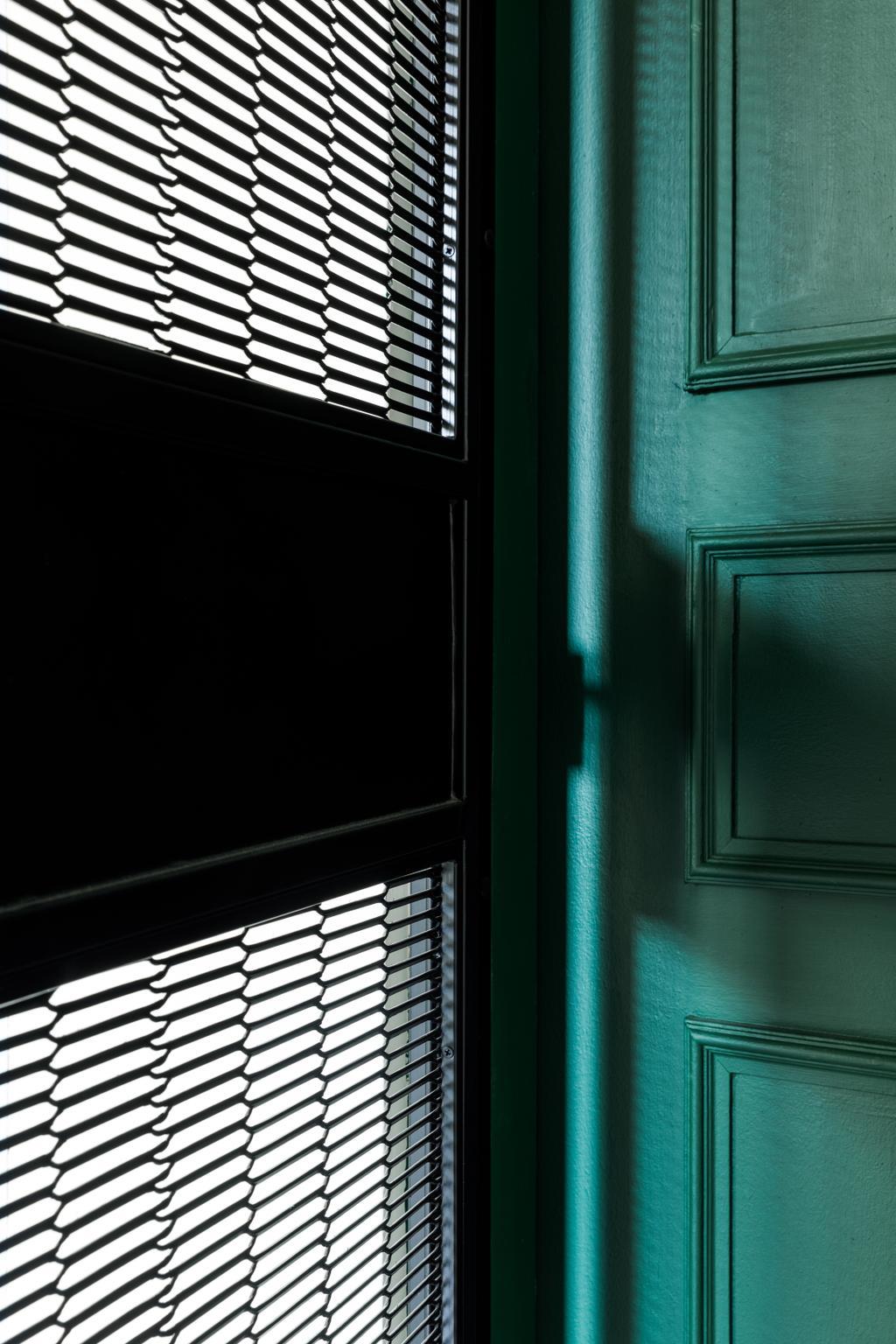 Contemporary, HDB, Living Room, Sengkang East Way, Interior Designer, Jialux Interior, Gate, Door, Entrance