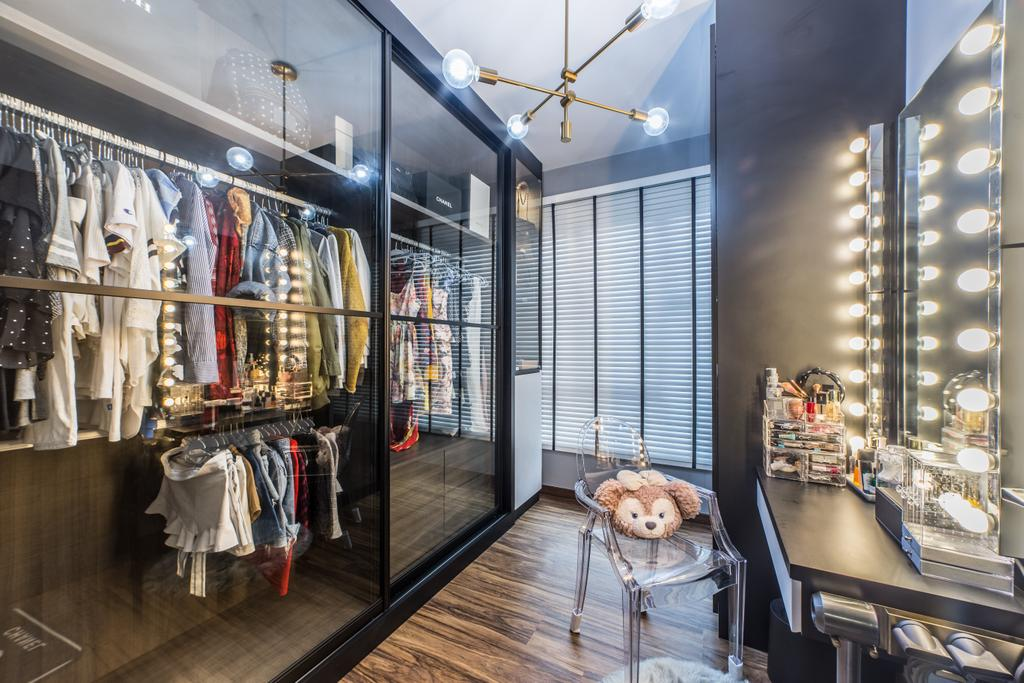 Contemporary, Condo, The Brownstone, Interior Designer, Jialux Interior
