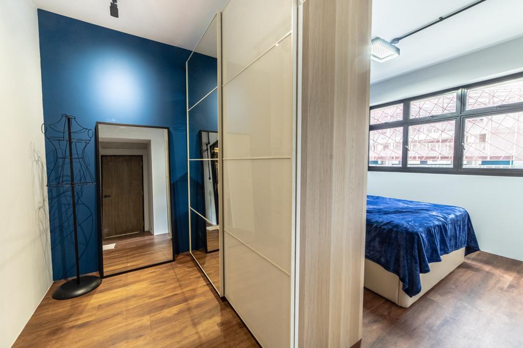 Contemporary, HDB, Bedroom, Buangkok Link, Interior Designer, Jialux Interior, Eclectic