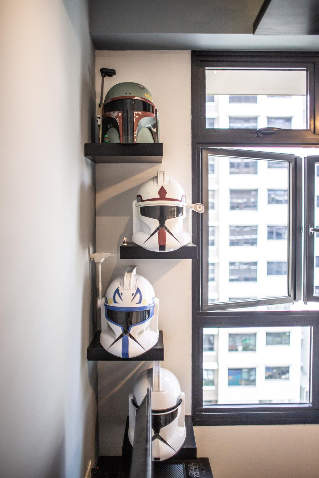 Contemporary, HDB, Living Room, Buangkok Link, Interior Designer, Jialux Interior, Eclectic